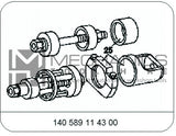Mercedes Benz Chassis W140 Lower  Control Arm Bush Remover / Installer