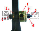 Mercedes Benz Chassis Rear Sub Frame Bush Remover / Installer