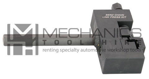 Mercedes Benz Chain Link Press Kit