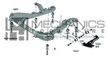 SAAB Suspension Bush Extractor / Installer (SAAB 95)
