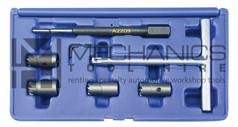 BMW / BENZ / Audi CDI Diesel Injector Seat Cutter and Reamer Set