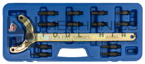 Universal Adjustable Camshaft Pulley Holding Tool