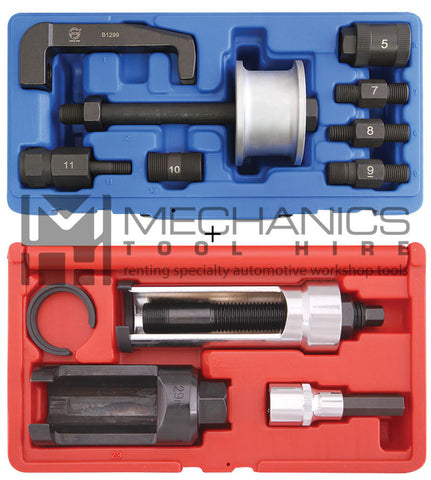 Benz CDI Injector Puller Both Kits Slide Hammer and Screw Type