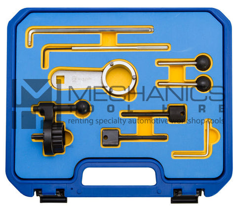 For Setting the engine timing on VW / 1.6L & 2.0L engines 2013 Onwards