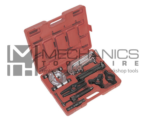 Hydraulic Gear Puller Set - 2 and 3 Leg - 10 Tonne