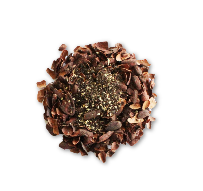 Chocolate Green Tea - Contains both Chinese & Japanese for the best of both - Seriously! Chocolate Tea