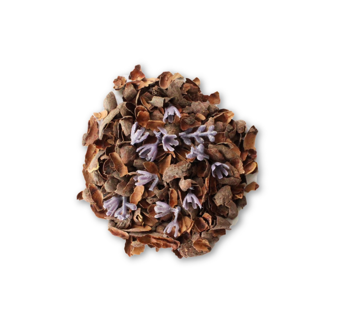 Chocolate Lavender - Lighty scented with a hint of lavender - Seriously! Chocolate Tea