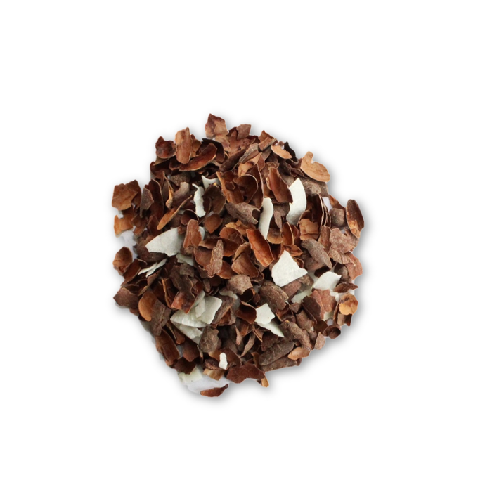Chocolate Coconut - Smoothly satisfying with rich macaroon flavour. - Seriously! Chocolate Tea