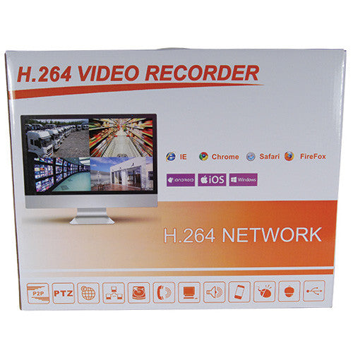 4 Channel AHD 1080P DVR with no hard drive - ICS and Electronics LLC