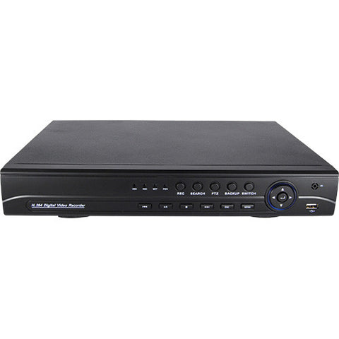 8 Channel AHD 1080P DVR with a 2TB hard drive - ICS and Electronics LLC
