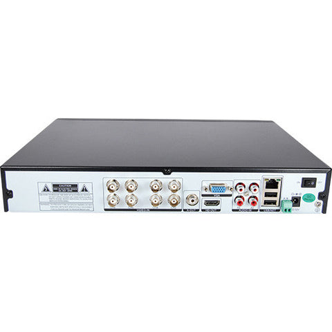 8 Channel AHD 1080P DVR with a 4TB hard drive - ICS and Electronics LLC