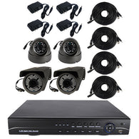 High Definition 4 Channel Surveillance System with 1TB Hard Drive - ICS and Electronics LLC