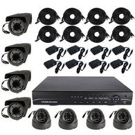 High Definition 8 Channel Surveillance System with 2TB Hard Drive - ICS and Electronics LLC