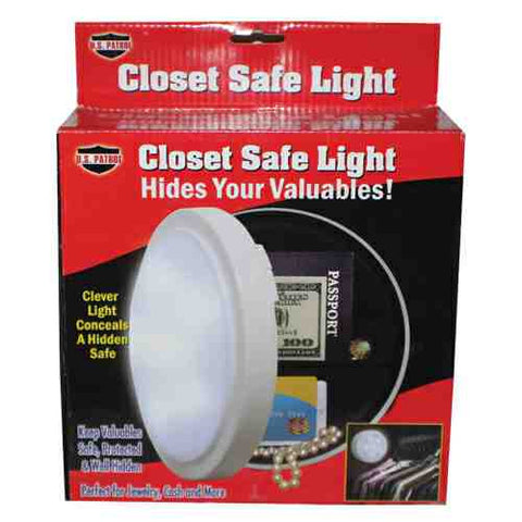 Closet Light Diversion Safe - ICS and Electronics LLC