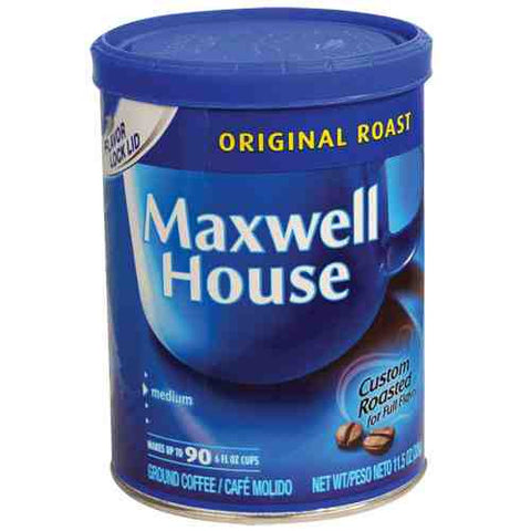 Maxwell House Coffee Diversion Safes - ICS and Electronics LLC
