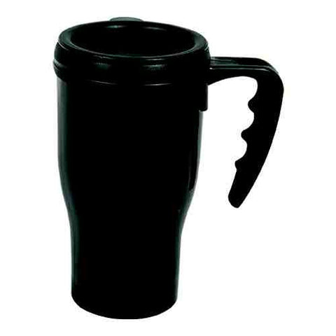 Plastic Coffee Mug Diversion Safe (Black) - ICS and Electronics LLC