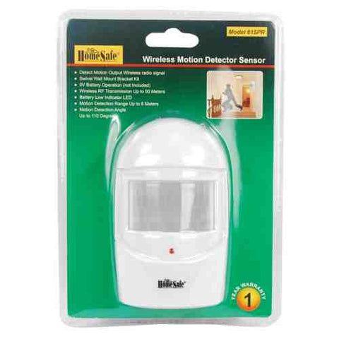 HomeSafe Wireless Home Security Motion Sensor - ICS and Electronics LLC