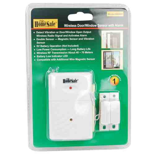 HomeSafe Wireless Home Security Sensor