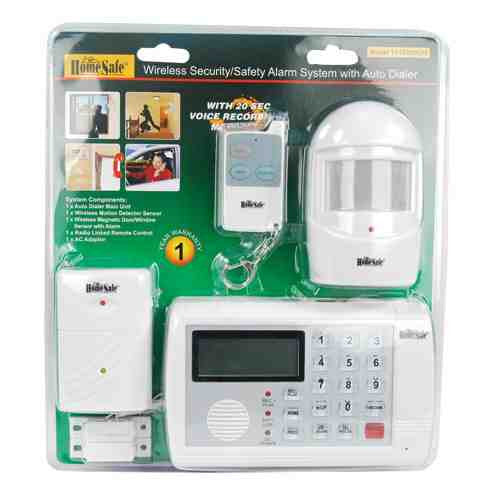 HomeSafe Wireless Home Security System - ICS and Electronics LLC