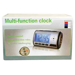 Mini Digital Color Alarm Clock Dvr - ICS and Electronics LLC