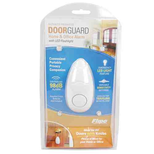Door Guard Alarm 98db with Flashlight - ICS and Electronics LLC