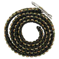 Paracord Camo Belt with metal buckle - ICS and Electronics LLC