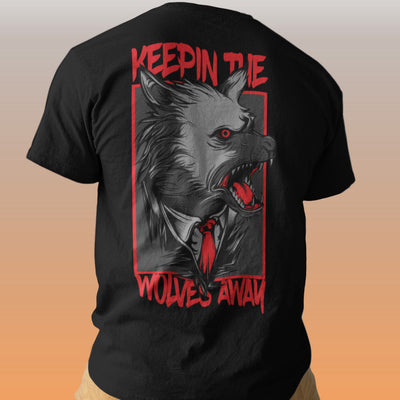 KEEPIN THE WOLVES AWAY F/B TEE