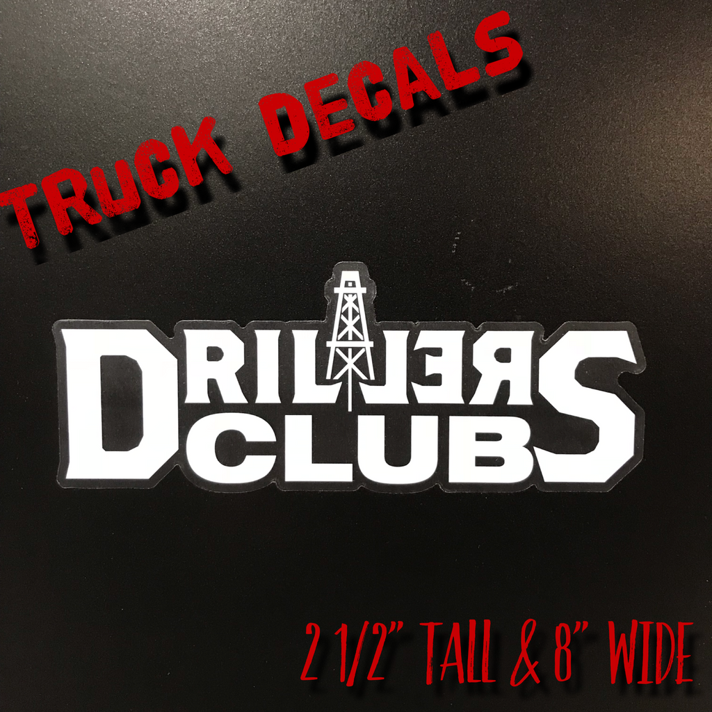 DC Stacked Truck Decal