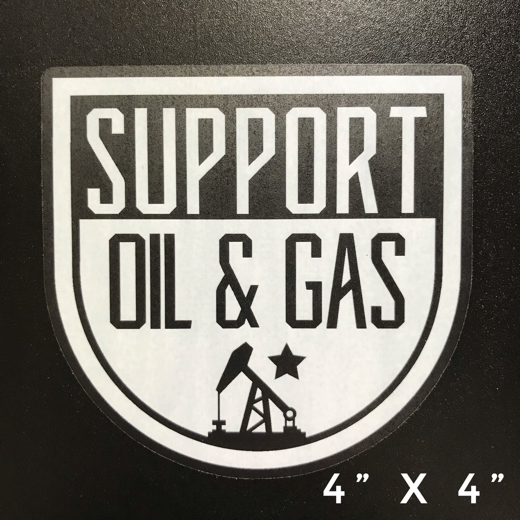 Support O&G Decal