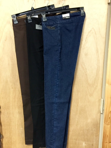 "Plus Size SlimSation Slacks  (inseam 30"")"