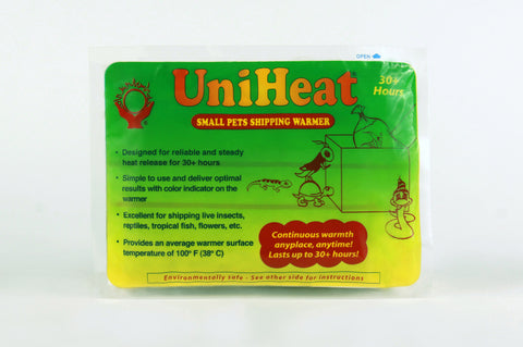 UniHeat 30 Hour Shipping Warmer - Front of Packaging