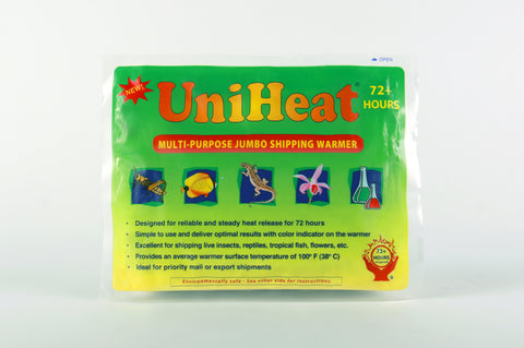 UniHeat 72 Hour Shipping Warmer - Front of Packaging