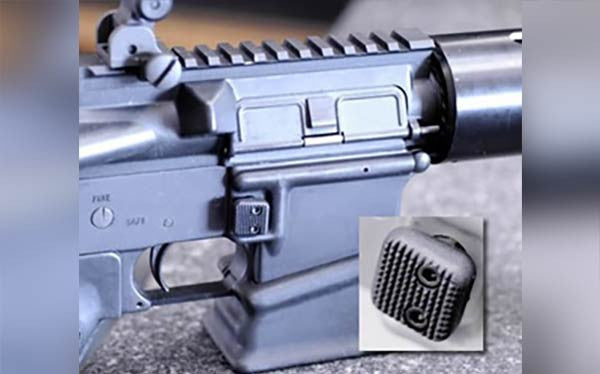 AR Mag Button