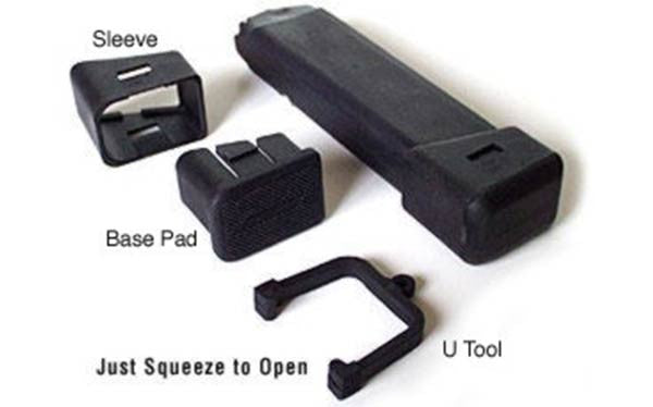 Glock Base Pad for Type 19 and 23