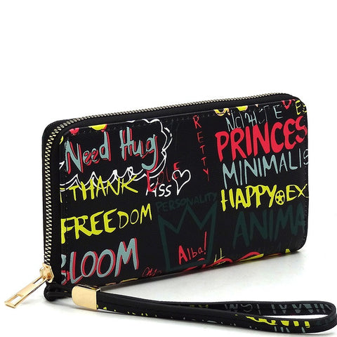 Graffiti Wallet