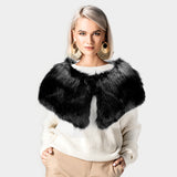 Faux Fur Cape Scarf - iBESTEST.com