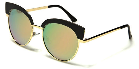 Cateye Mirrored Shades