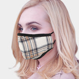 Plaid Mask