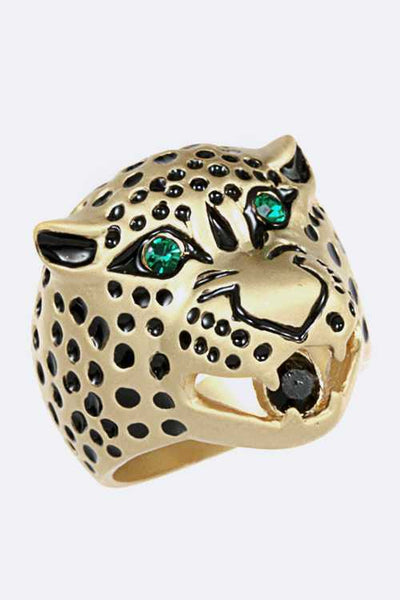 Emerald Panther Ring - iBESTEST.com