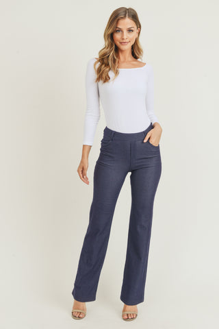 Denim Flare Jeggings