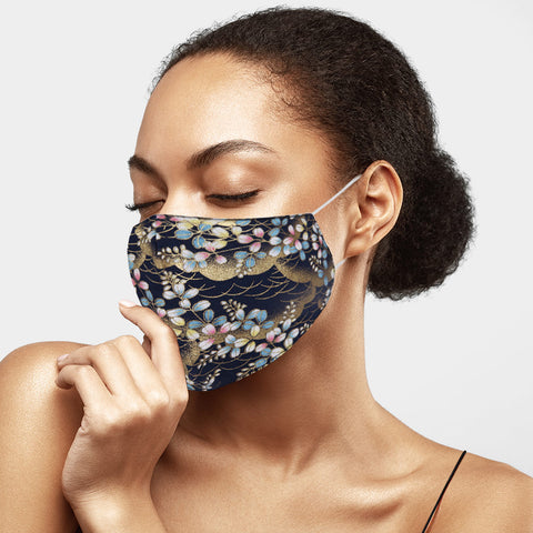 Floral Cotton Mask