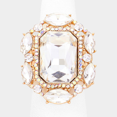 Crystal Stretch Ring - iBESTEST.com