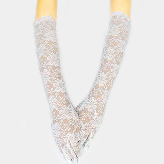 Long Lace Gloves - iBESTEST.com