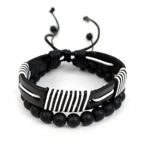 Men's Striped Bracelet - iBESTEST.com