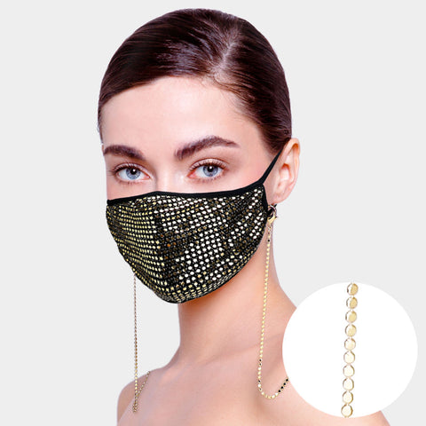 Metal Statement Mask Holder