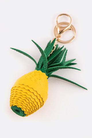 Pineapple Keychain / Bag Charm - iBESTEST.com