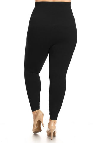 Black Plus Sz Leggings