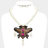 Queen B Statement Necklace - iBESTEST.com