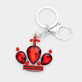 Crystal Crown Keychain - iBESTEST.com