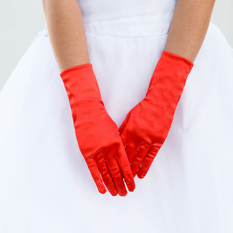 Satin Gloves - iBESTEST.com